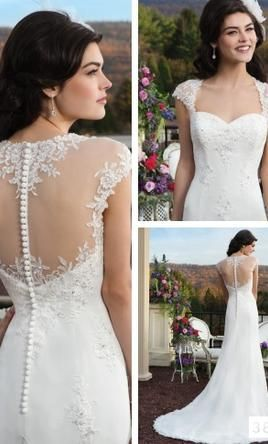 Sincerity 3802 8: buy this dress for a fraction of the salon price on PreOwnedWeddingDresses.com