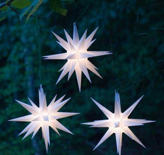 Moravian Stars, Old Salem, NC