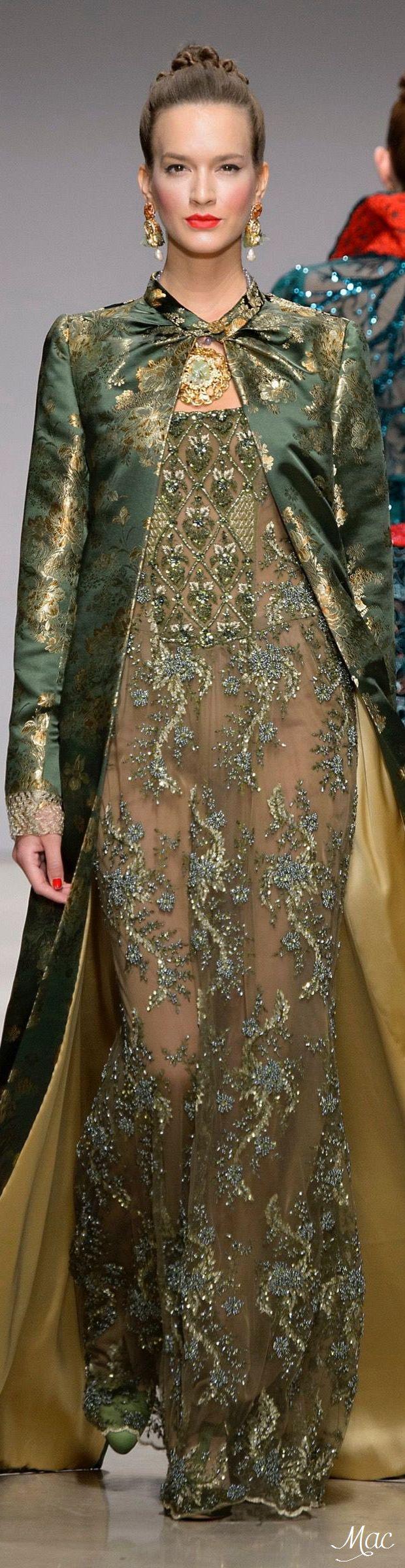 Raffaella Curiel Fall 2015 Couture