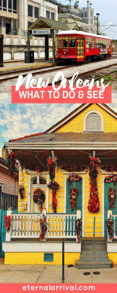 Things to do in New Orleans beyond just the French Quarter & Bourbon Street! Go on a food tour, explore voodoo culture, find funky hotels, go shopping, explore the Garden District, try classic cocktails & more.