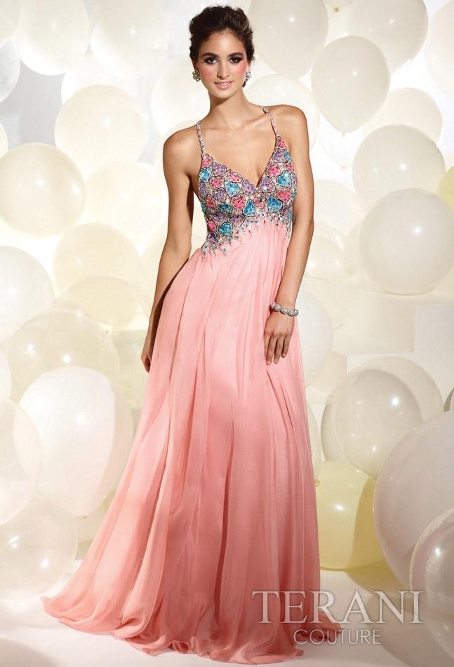 Mejores 19 imágenes de Terani Prom Dresses en Pinterest | Vestido de ...