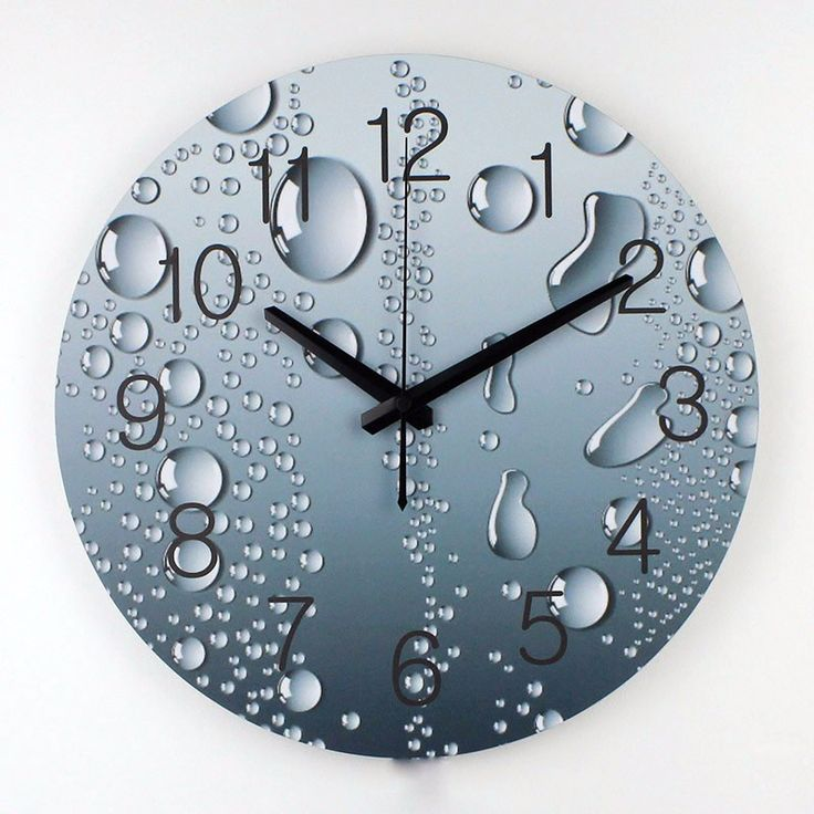 Grey Bubbles Wall Clock   Free Worldwide Shipping!  Only $34.56    Order from: www.happycozyhome.com