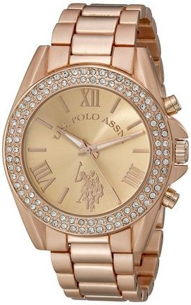 awesome Women's USC40037 Analog Display Analog Quartz Rose Gold Watch - For Sale