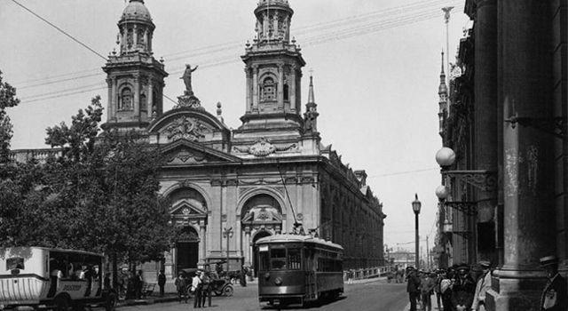 Catedral de Santiago. Ca. 1940