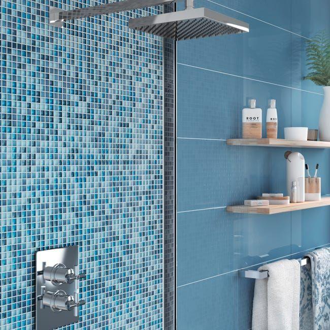 Mosaique Mur Tonic Bleu Leroy Merlin Sol Vinyle Tonic Mur