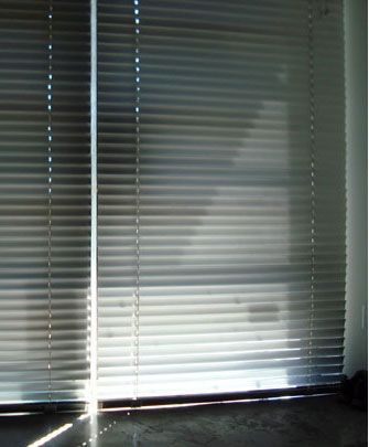 The house I'm renting for the year has many oversized windows with equally oversized aluminum blinds. When it came to dusting them, the task seemed daunting and I kept putting it off. That is, until the obvious hit me: