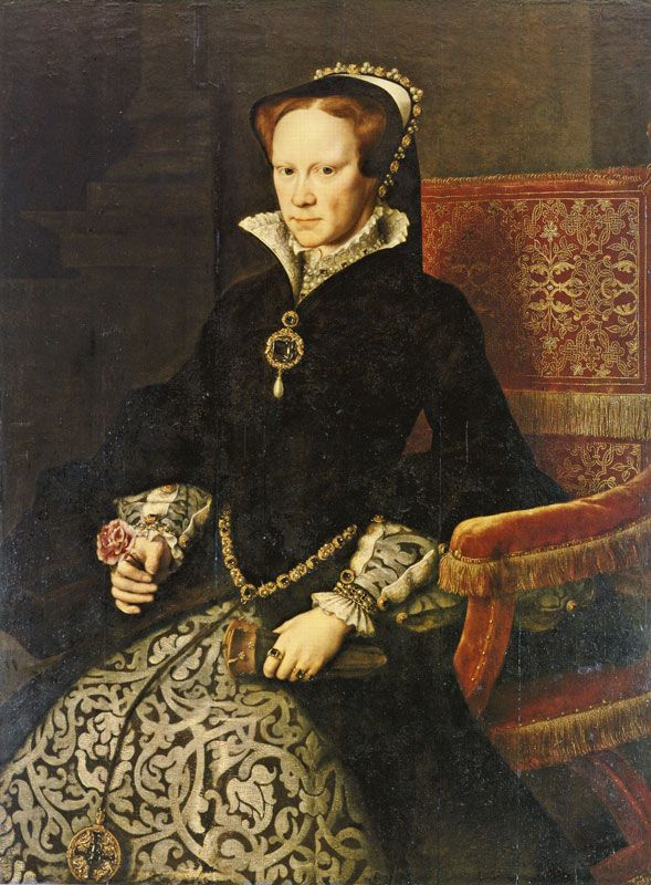 Mary I of England. Buried along side her half sister ...