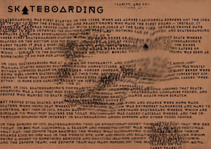 History of Skateboarding - Cullum Pope