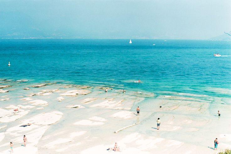 "Lido delle Bionde, Lago de Garda ""clearest water of the lake"""