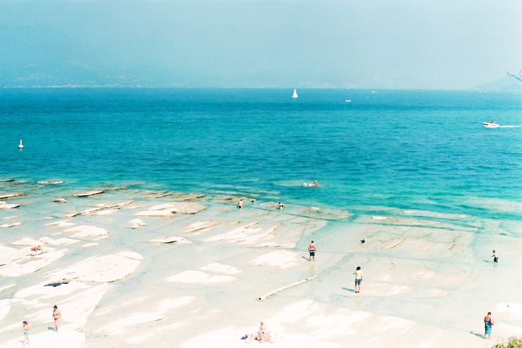 "Lido delle Bionde, Lago de Garda ""clearest water of the lake"""