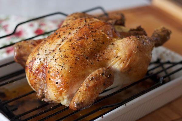 Lemon & Sage Roast Chicken #mains, #healthymains,