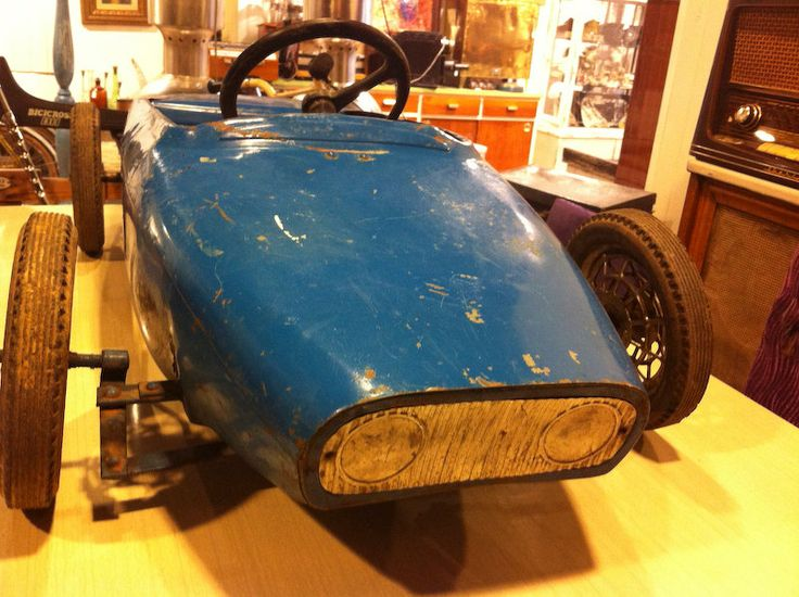 Antiguo Coche de pedales Lotus de baraturantic en Etsy