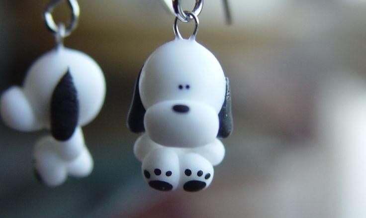 Polymer clay earrings!