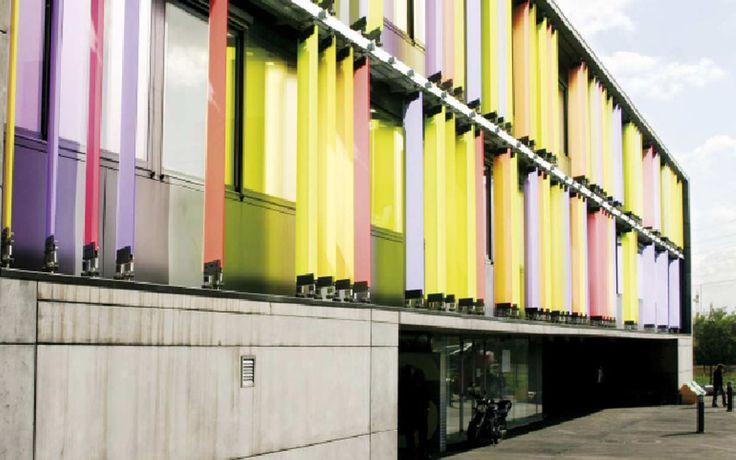 Bâtiment culturel, STAPS, Université Paris XII, Créteil | gec ingenierie, bureau d'étude et de coordination, bâtiment et industrie