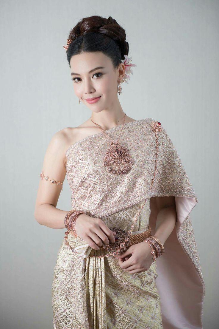 298 best Thai Wedding Dress images on Pinterest   Thai ...