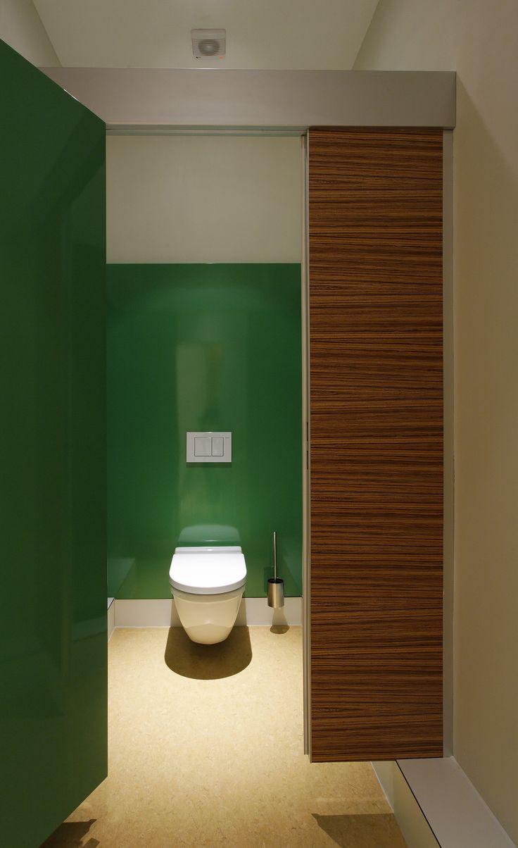 Stylish corporate restroom in Hamburg, Germany