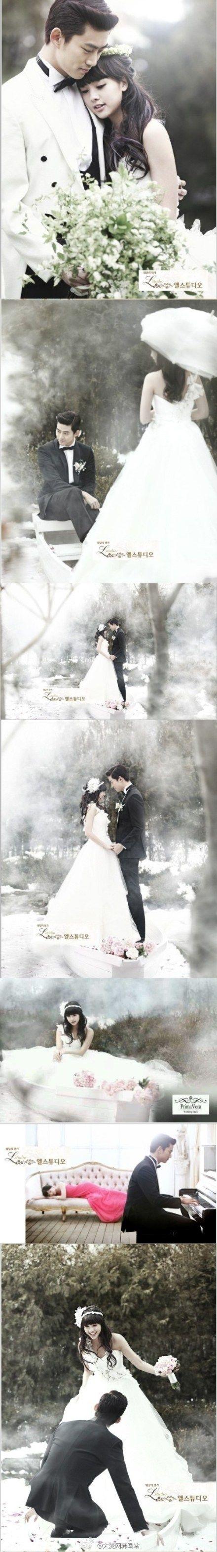 Love their wedding pics - We got married Intl