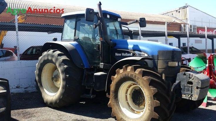 Venta de Tractor agrícola New Holland TM 190 en Sevilla