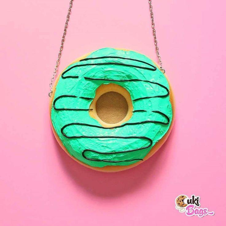 Warning  Wearig this 'minty Donut'       will turn some heads! . #makeastatement #wear a #CukiBag handmade purse! . SOON  you can buy it online . #custombag #Donut #donutpurse #donutbag #chocolate #ilovedonuts #ilovehandmade #ilovechocolate #handmade #purse #purses #mintdonut #summer #summerfun #insta #instafun #statement #sweettooth #cute #unique #chocolatemint #coffeedonut #ilovemint #mintgreen #instafood #instafoodie #delicious . @deliciumic @anatudoraa