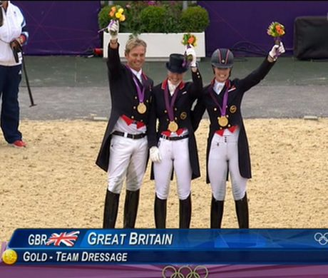Great Britain win first ever team dressage gold at London 2012 Olympics as Team GB overtake Beijing haul - Telegraph
