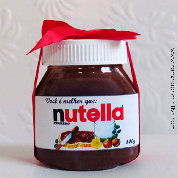DIY: Você é melhor que nutella