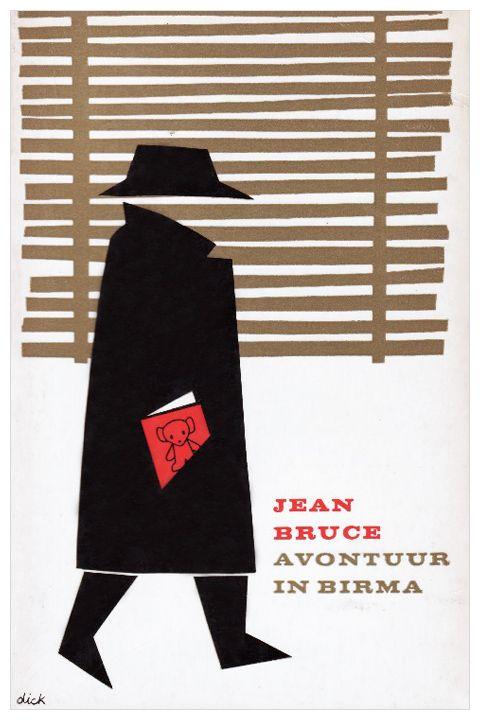 Dick Bruna book covers - Avontuur in Birma, 1962