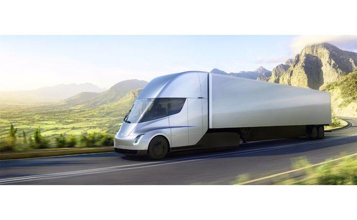 Tesla hat seinen ersten Elektro LKW vorgestellt. Bei einer Abendveranstaltung wurde der erste Prototyp der neuen Geschäftssparte von Tesla enthüllt.
