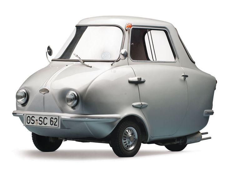 Rocketumblr | carsinstudio: Scootacar Deluxe Mk II (1960)