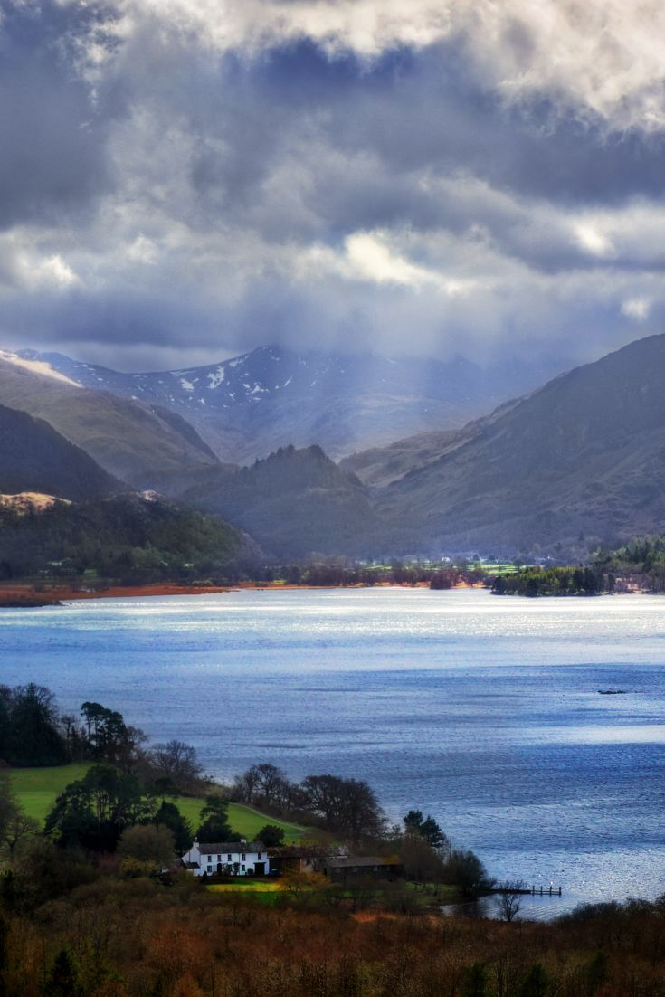 """Storm of Borrowdale"" - Castlehead, Keswick, Lake District, Cumbria, England by…"