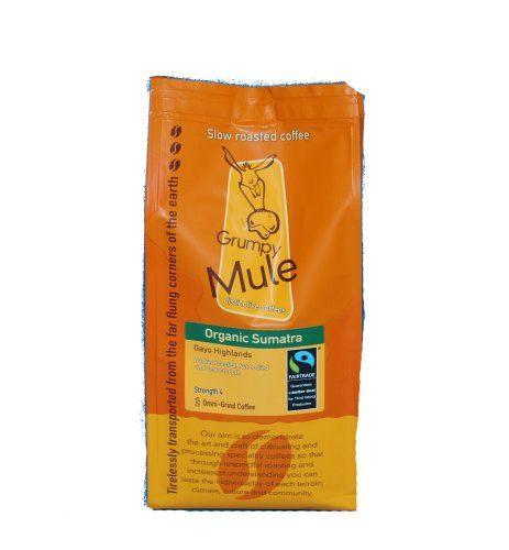 From 5.19:Organic Fairtrade Sumatra Coffee 227g Grumpy Mule