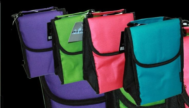 Solid Colored Insulated Lunch Bags - 24 Units