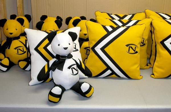 Recycled LCN band uniforms raise funds - Life - Voice News - old uniforms into cushions and teddies!