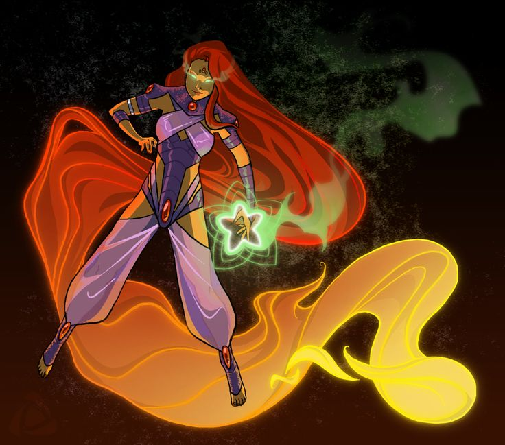 110 best images about Comics Character Starfire on ...