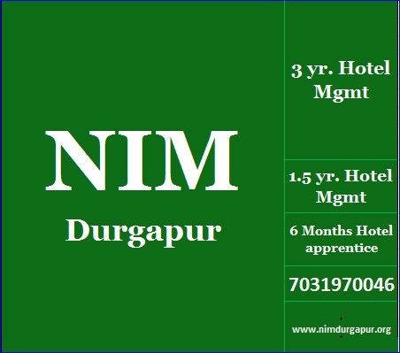 FACILITIES Hotel Management students get equal facilities initially.after completing Hotel Management, all Hotel Management students may join in different Hotel accross the globe. student with Management skill in Hotel Management gets better expossure after Hotel Management study Contact -  Mb- 7031970046, http://www.nimdurgapur.in