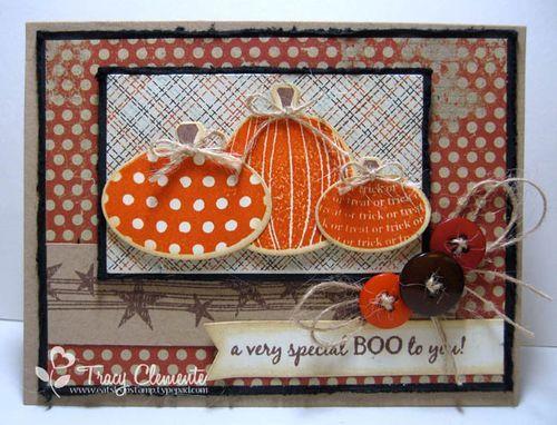 Stamps: Primitive Pumpkins Die-namics: Primitive Pumpkin Trio