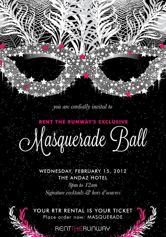 Best Invitations Images On Pinterest Invitations Masquerade - 21st birthday invitations pinterest