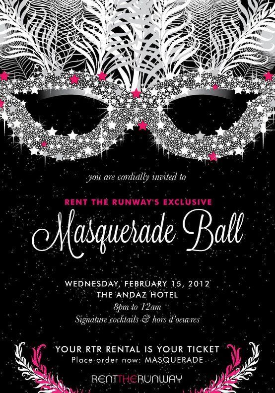 Custom Masquerade Invitations by KmPrinting on Etsy, $1.00