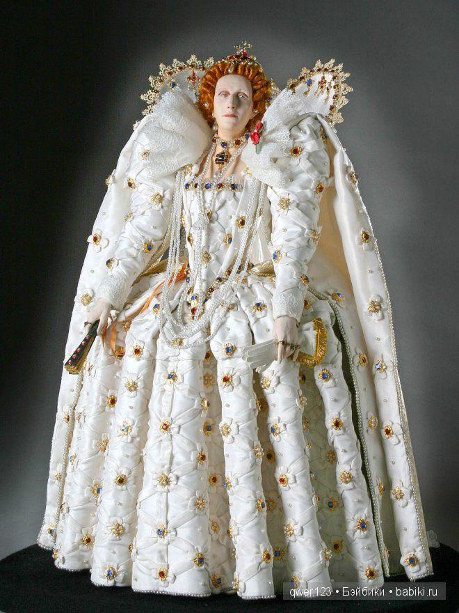 Восковые куклы Георга Стюарта. Исторические персонажи Англии. (George Stuart) / Авторская кукла известных дизайнеров / Бэйбики. Куклы фото. Одежда для кукол