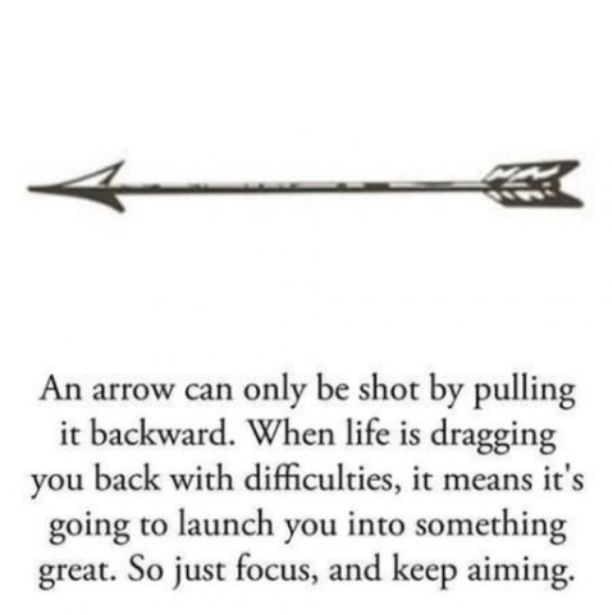 Arrow Life Quote Inspirational Quotes Quotes Tattoo Quotes