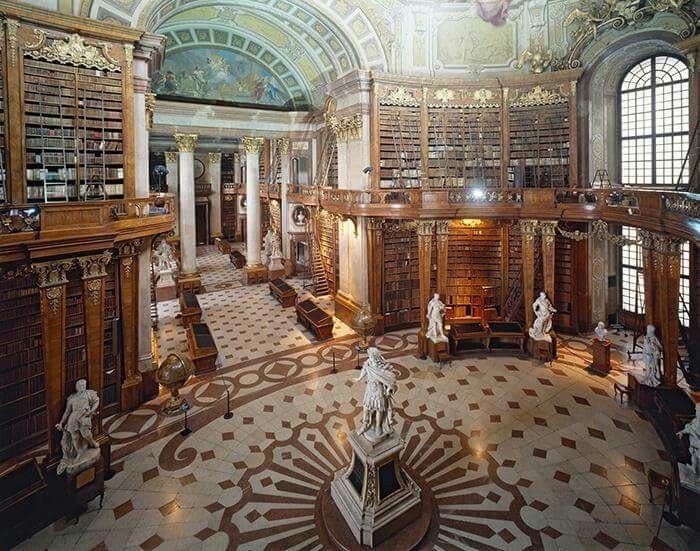 National Library - Vienna,  Austria