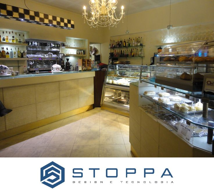 Caffè Cavour in Bra by Stoppa Design e Tecnologia.  The Best Kitchen Equipment for your Bar.