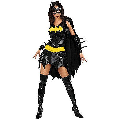 Batgirl Adult Halloween Costume at #Walmart  sc 1 st  Pinterest & 97 best Chic halloween! images on Pinterest | Halloween prop Adult ...