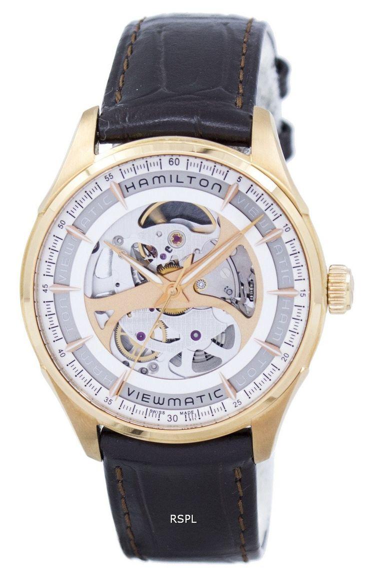 Hamilton Jazzmaster Viewmatic Skeleton Automatic H42545551 Men's Watch