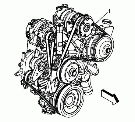 serpentine belt routing diagram picture for the gmc and ... 4 6l engine diagram buick 2001 ford 4 6l engine diagram