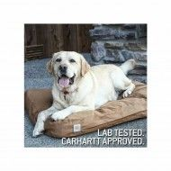 Carhartt dog bed made from highly durable Carhartt Cotton Duck fabric