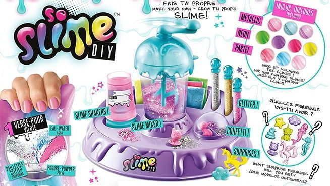 Slime Factory Juguetes De Navidad Cosas De Barbie Carta A Los