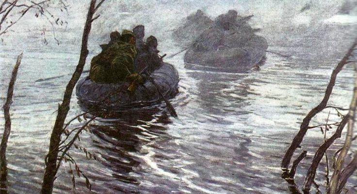 V. Dmitrievskiy. At dawn