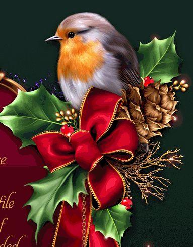 aves navideñas gif - Buscar con Google