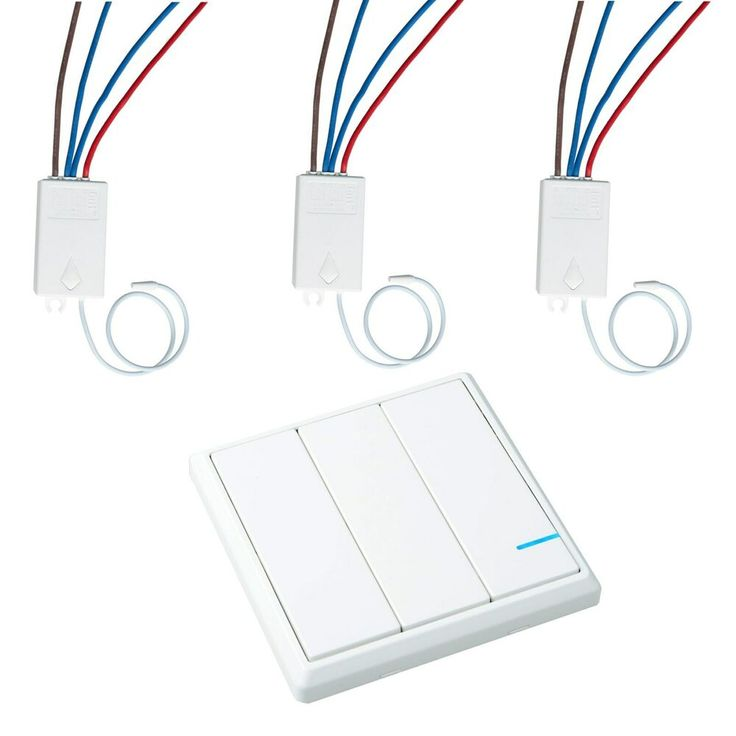 Wireless RF Lighting Light Switch Kit Remote Control Wall