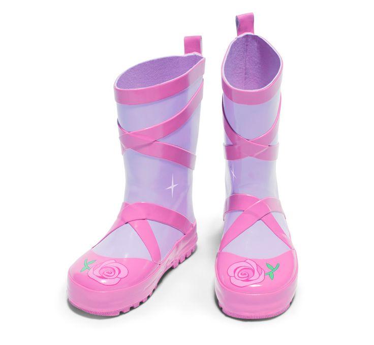 Ballerina Kids Rain Boots - Rainboots for Girls from Kidorable